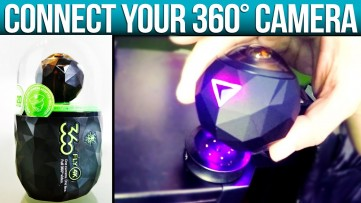 360FLY 3K Tutorial: How To Connect 360° Camera To Computer With Magnetic Charger