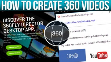 CREATE 360 DEGREE VIDEOS for Youtube & Facebook with Sony Vegas and 360 Director.
